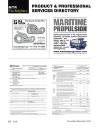 Marine Technology Magazine, page 62,  Nov 2013