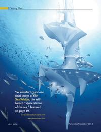 Marine Technology Magazine, page 64,  Nov 2013 Sea Orbiter