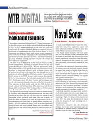 Marine Technology Magazine, page 8,  Jan 2014