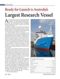Marine Technology Magazine, page 14,  Jan 2014