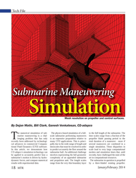 Marine Technology Magazine, page 18,  Jan 2014