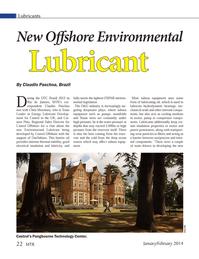 Marine Technology Magazine, page 22,  Jan 2014 oil
