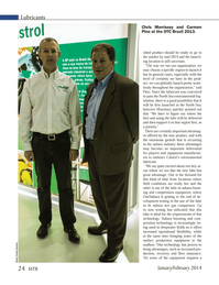 Marine Technology Magazine, page 24,  Jan 2014 surface production equipment