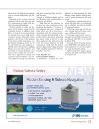 Marine Technology Magazine, page 25,  Jan 2014 environmental oil