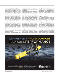 Marine Technology Magazine, page 27,  Jan 2014