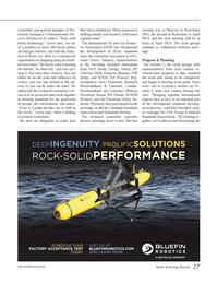 Marine Technology Magazine, page 27,  Jan 2014 Paul Steenhof
