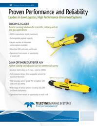 Marine Technology Magazine, page 1,  Jan 2014