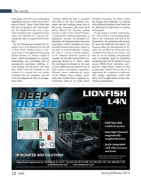 Marine Technology Magazine, page 28,  Jan 2014
