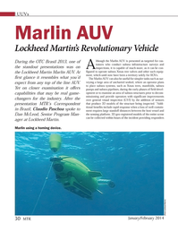 Marine Technology Magazine, page 30,  Jan 2014
