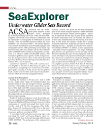 Marine Technology Magazine, page 36,  Jan 2014 National Center for Scienti