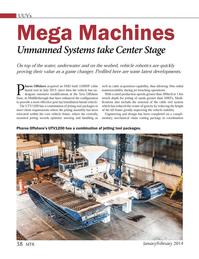 Marine Technology Magazine, page 38,  Jan 2014 Pharos Offshore?s UTV1200