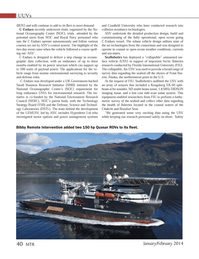 Marine Technology Magazine, page 40,  Jan 2014