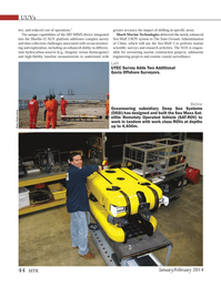 Marine Technology Magazine, page 44,  Jan 2014