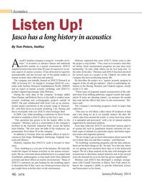 Marine Technology Magazine, page 46,  Jan 2014 Washington