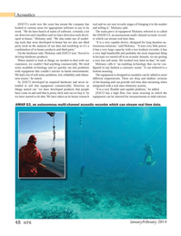 Marine Technology Magazine, page 48,  Jan 2014