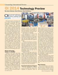 Marine Technology Magazine, page 53,  Jan 2014
