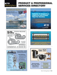 Marine Technology Magazine, page 61,  Jan 2014 control systems