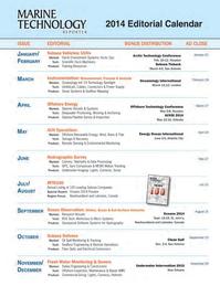 Marine Technology Magazine, page 62,  Jan 2014