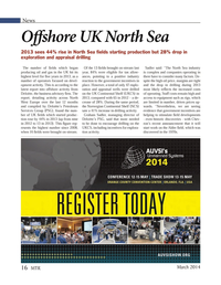 Marine Technology Magazine, page 16,  Mar 2014