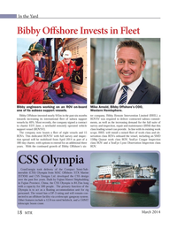 Marine Technology Magazine, page 18,  Mar 2014 Mike Arnold