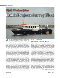 Marine Technology Magazine, page 20,  Mar 2014 fold-down stainless steel seating