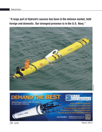 Marine Technology Magazine, page 28,  Mar 2014 United States Navy