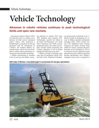 Marine Technology Magazine, page 32,  Mar 2014
