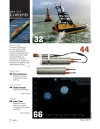 Marine Technology Magazine, page 2,  Mar 2014
