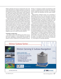 Marine Technology Magazine, page 47,  Mar 2014 North Atlantic