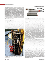 Marine Technology Magazine, page 50,  Mar 2014 in-situ and online measurements
