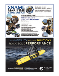 Marine Technology Magazine, page 53,  Mar 2014