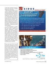 Marine Technology Magazine, page 65,  Mar 2014 InSAS technology