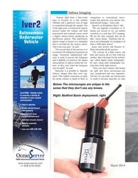 Marine Technology Magazine, page 68,  Mar 2014 imaging