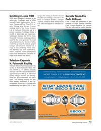 Marine Technology Magazine, page 79,  Mar 2014 Ocean Acoustic Lab
