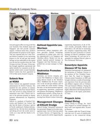 Marine Technology Magazine, page 80,  Mar 2014