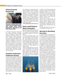 Marine Technology Magazine, page 82,  Mar 2014 Gulf of Mexico