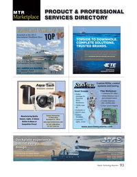 Marine Technology Magazine, page 93,  Mar 2014 connectivity solutions