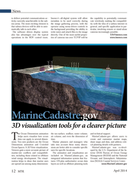 Marine Technology Magazine, page 12,  Apr 2014