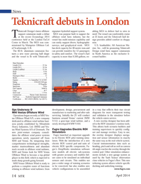 Marine Technology Magazine, page 14,  Apr 2014