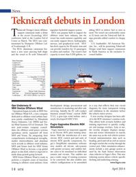 Marine Technology Magazine, page 14,  Apr 2014 3MW V112