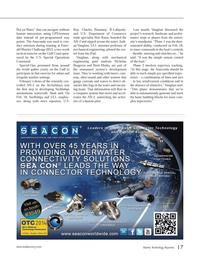 Marine Technology Magazine, page 17,  Apr 2014 Gulf coast