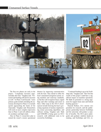 Marine Technology Magazine, page 18,  Apr 2014