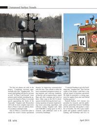 Marine Technology Magazine, page 18,  Apr 2014 Ramesh Kolluru