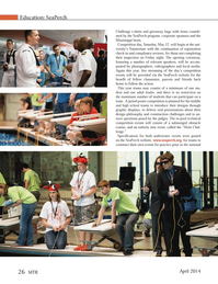 Marine Technology Magazine, page 26,  Apr 2014 local media
