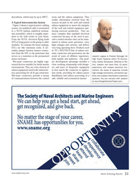 Marine Technology Magazine, page 31,  Apr 2014