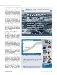 Marine Technology Magazine, page 35,  Apr 2014