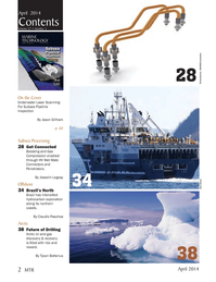 Marine Technology Magazine, page 2,  Apr 2014 Jason Gillham