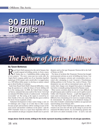 Marine Technology Magazine, page 38,  Apr 2014 Alaska