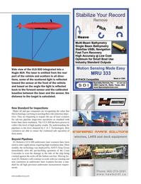 Marine Technology Magazine, page 45,  Apr 2014 C & C Technologies