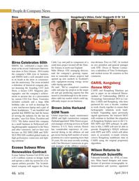 Marine Technology Magazine, page 46,  Apr 2014 Massachusetts